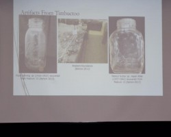 Artifacts from Timbuctoo