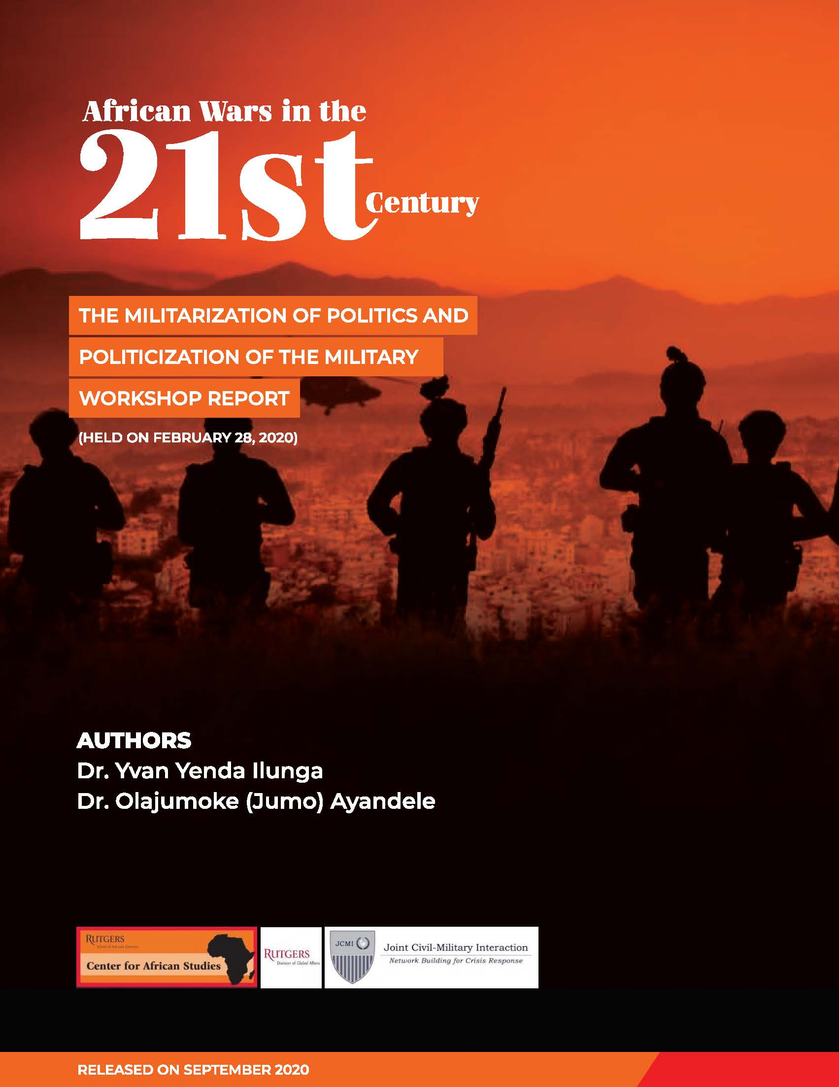 African Wars in the 21st Century: Dr. Yvan Yenda Ilunga and Dr. Olajumoke (Jumo) Ayandele
